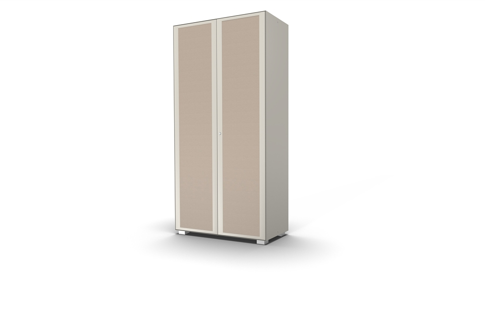 Hinged door cabinet with sound doors design 967Arch