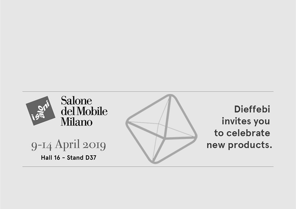 Salone del Mobile 2019 - SAVE THE DATE