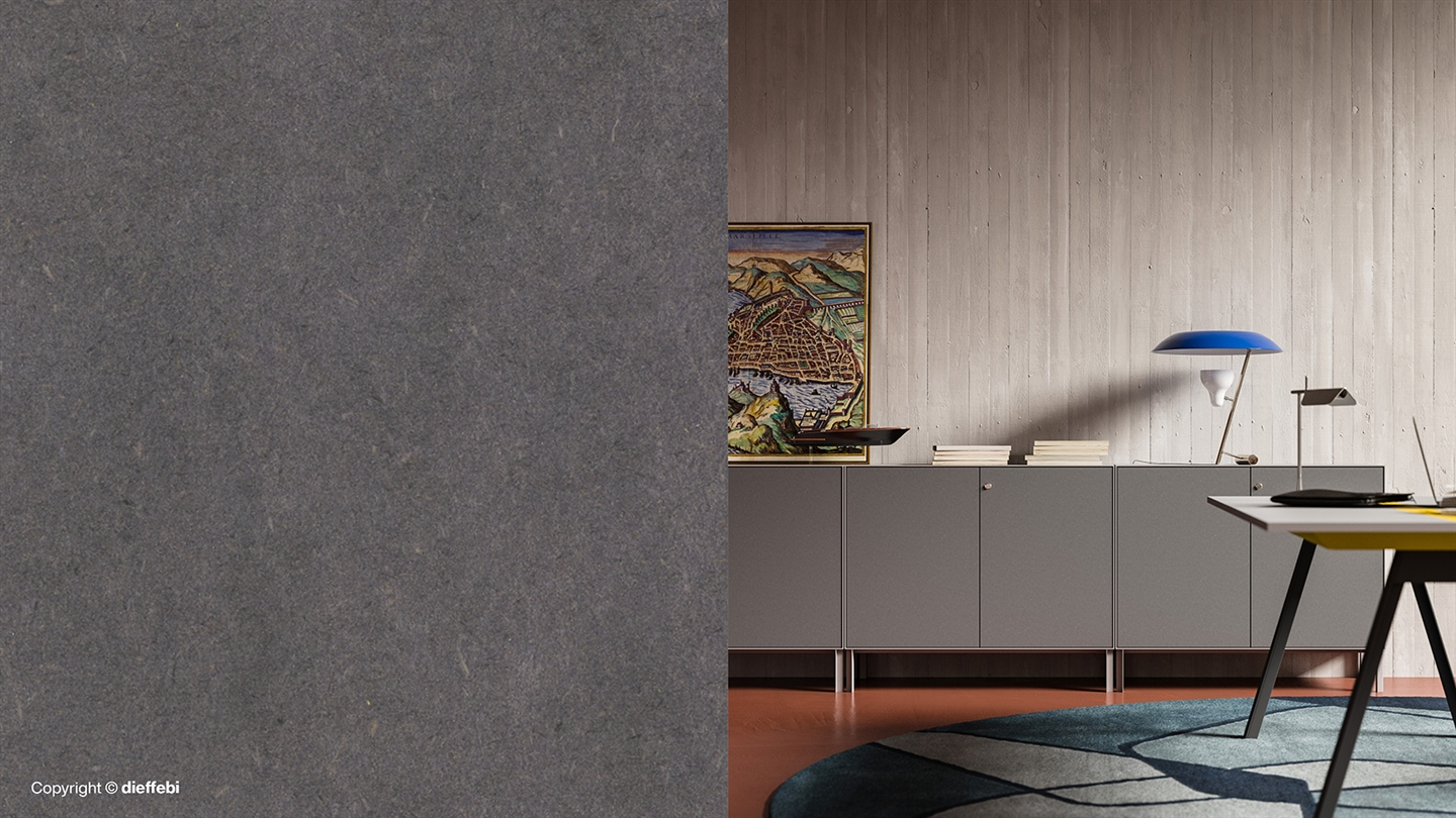 Primo Tex: where the durability of metal meets the warmth of Finsa texture to support hybrid workplaces.